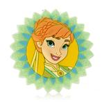 Anna Frozen Fever Badge- Card
