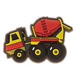 Cement Truck Charm SS17