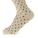WOMAN DOT SOCKS