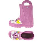 CrocsFL Butterfly Rain Boot K