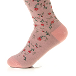 WOMAN FLOWER SOCKS