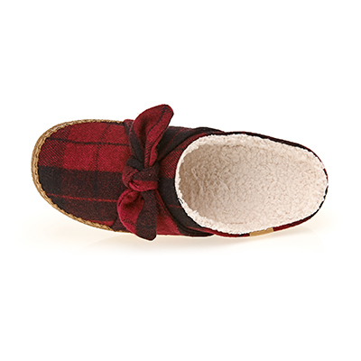 RED PLAID FELT IVY (W)