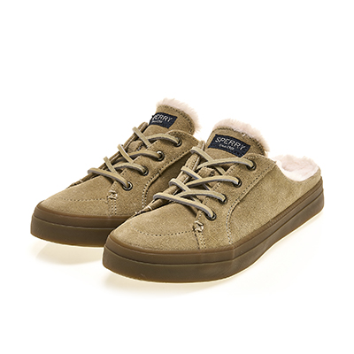 CREST VIBE MULE SUEDE