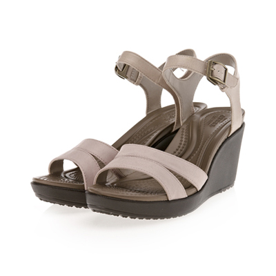 LEIGH II ANKLE STRAP WEDGE W