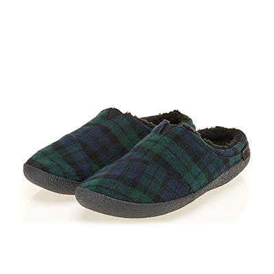 SPRUCE PLAID FELT BERKLEY (M)